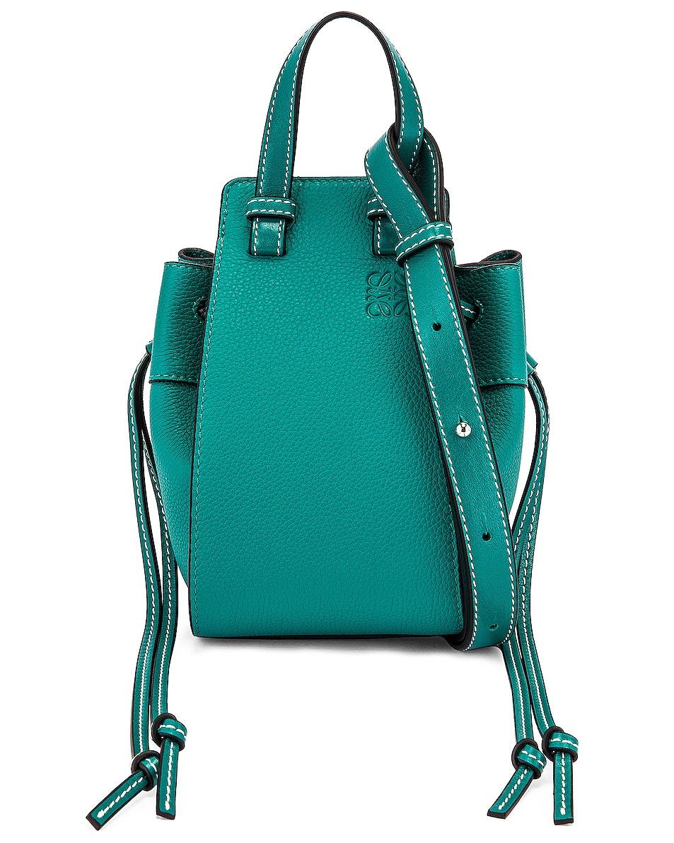 Image 1 of Loewe Hammock DW Mini Bag in Emerald Green