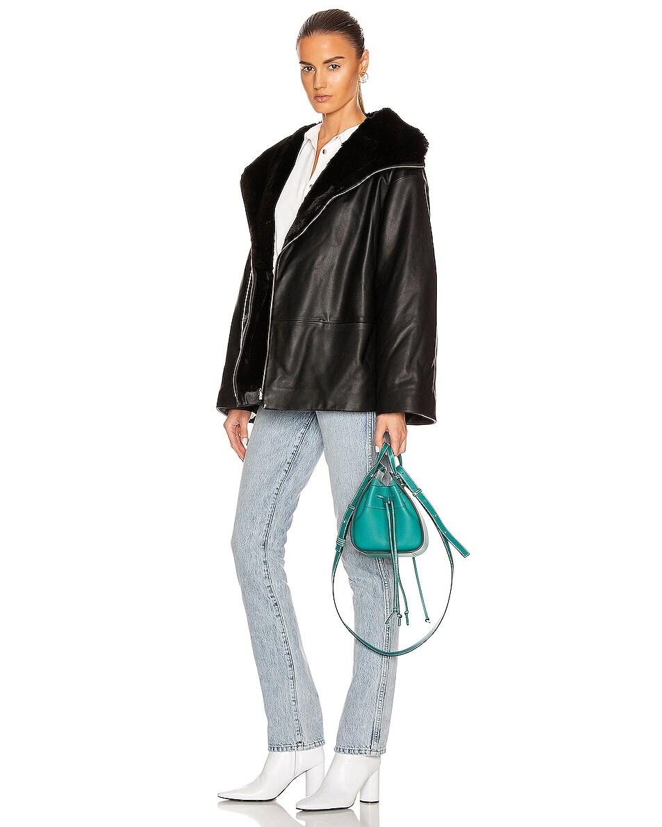 Image 2 of Loewe Hammock DW Mini Bag in Emerald Green