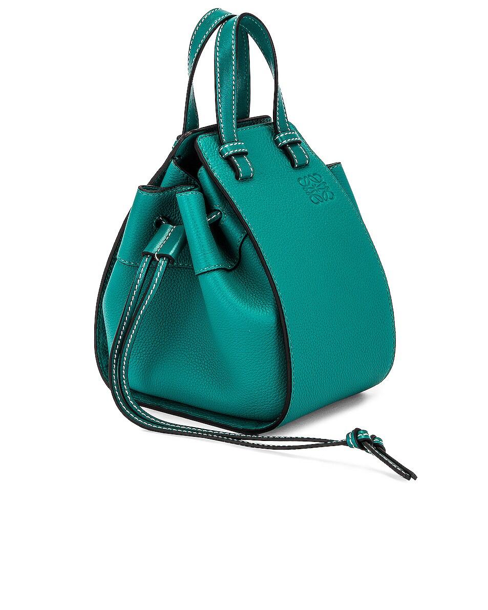 Image 4 of Loewe Hammock DW Mini Bag in Emerald Green