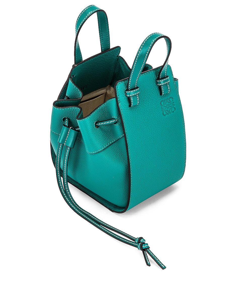 Image 5 of Loewe Hammock DW Mini Bag in Emerald Green