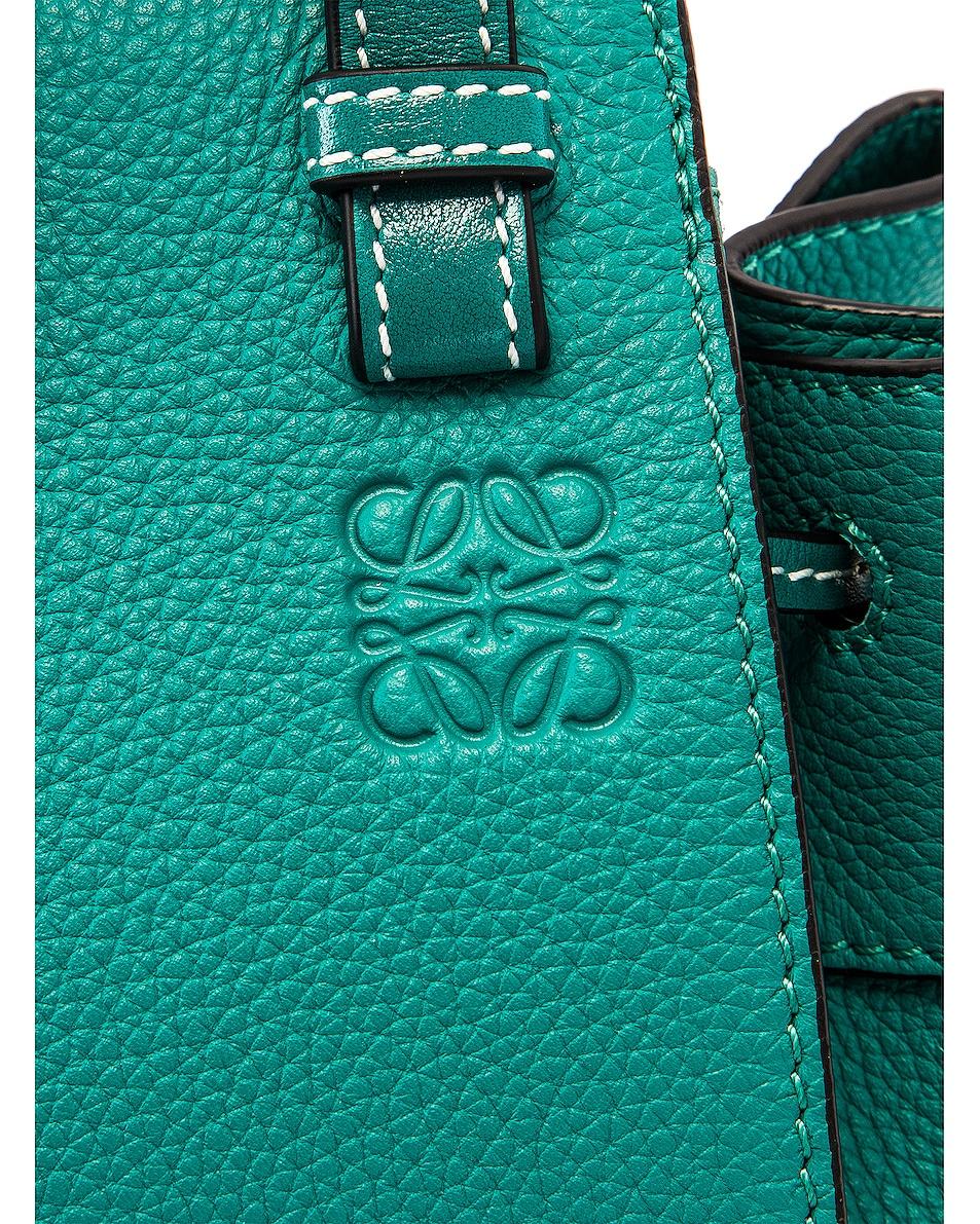 Image 8 of Loewe Hammock DW Mini Bag in Emerald Green