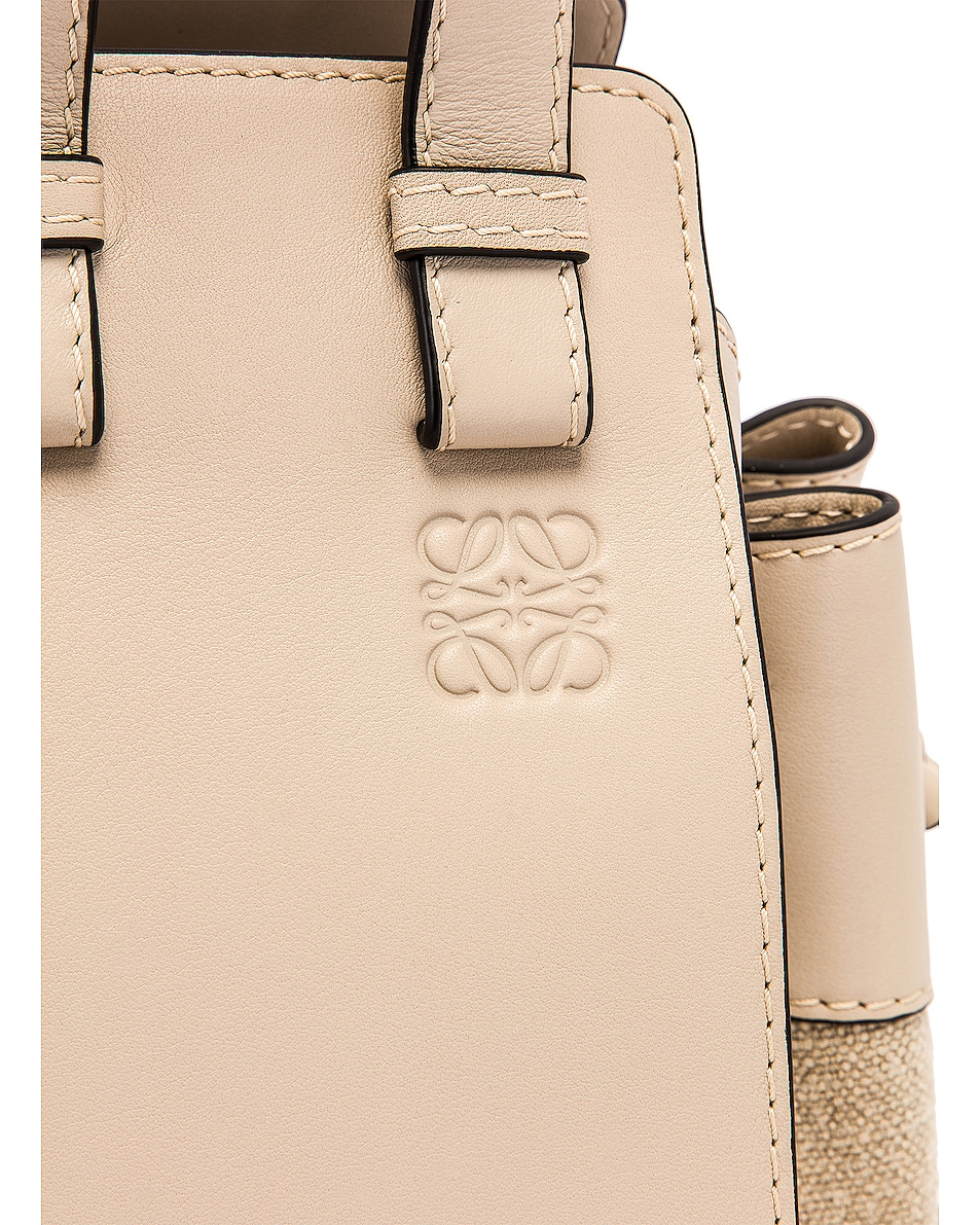 Image 8 of Loewe Hammock DW Small Bag in Light Oat