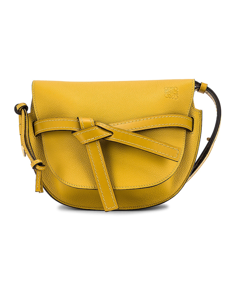 Image 1 of Loewe Gate Small Bag in Ochre