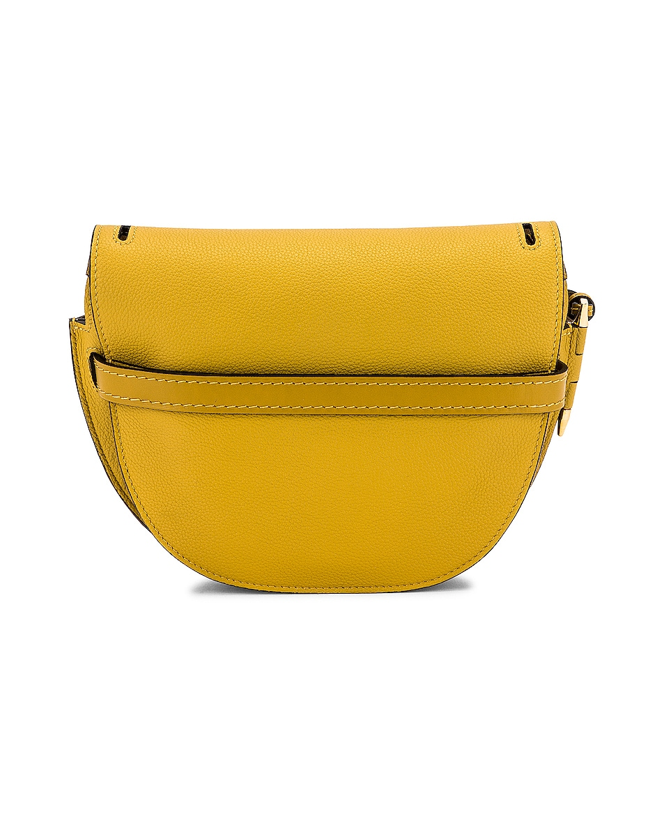 Image 3 of Loewe Gate Small Bag in Ochre