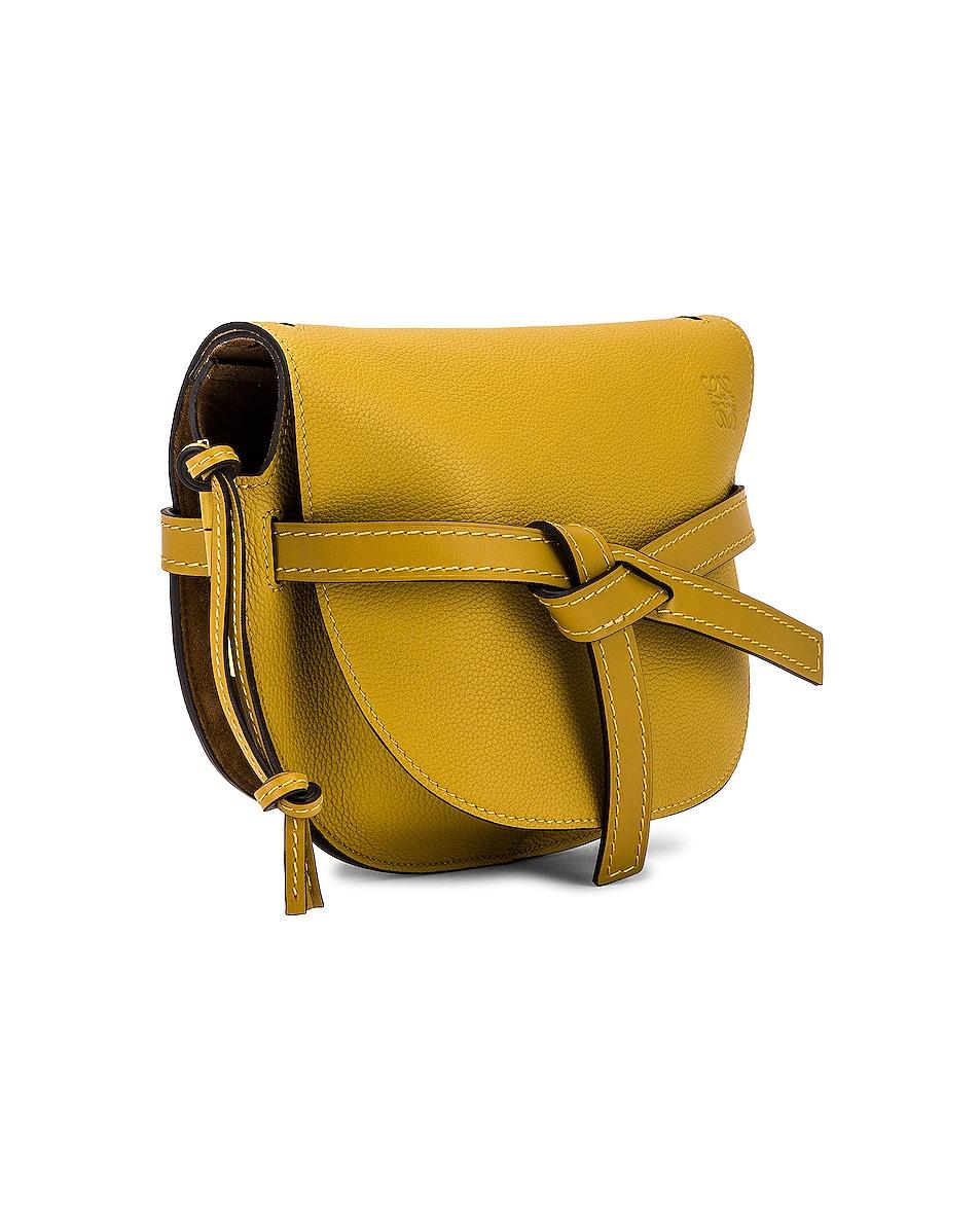 Image 4 of Loewe Gate Small Bag in Ochre