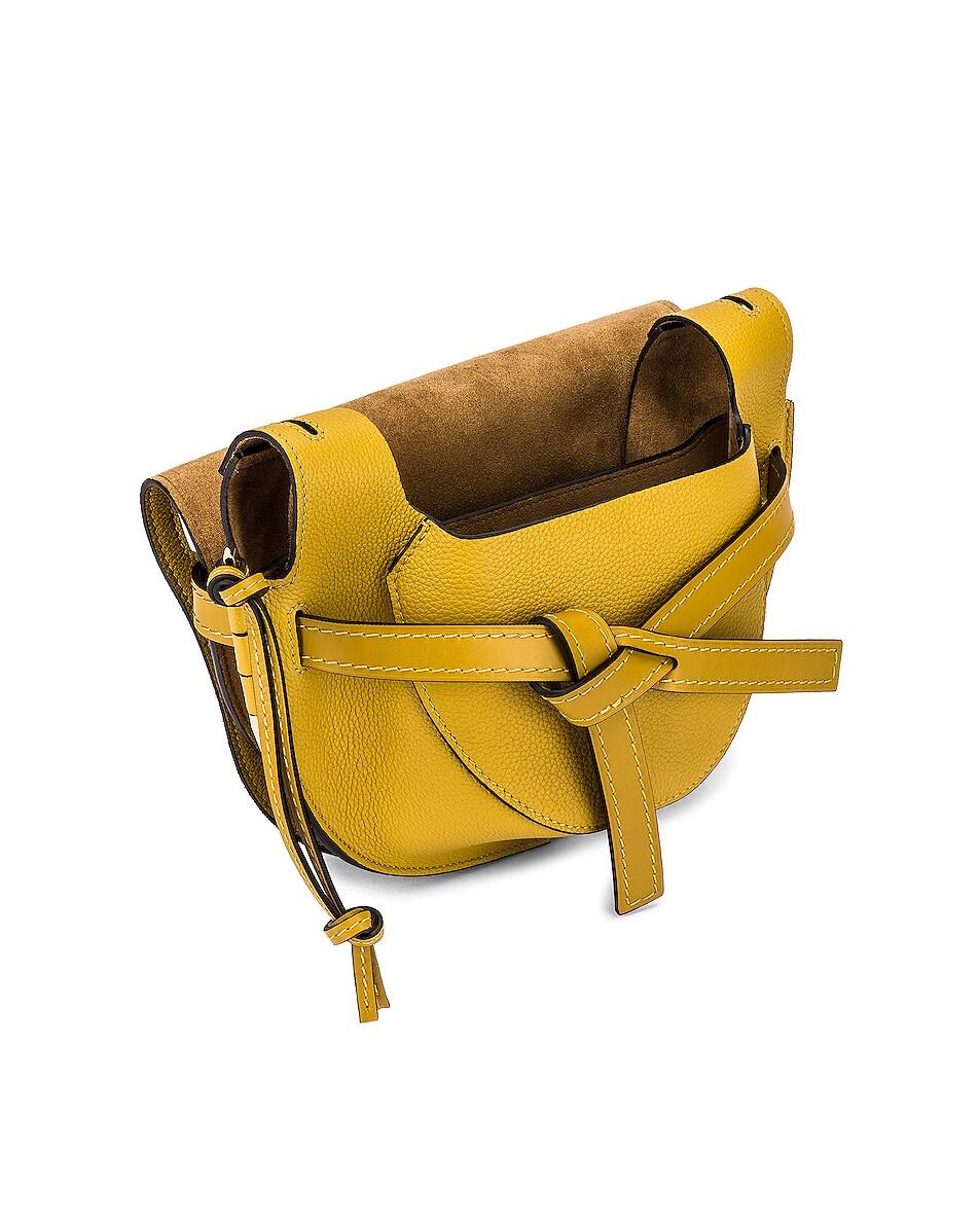 Image 5 of Loewe Gate Small Bag in Ochre