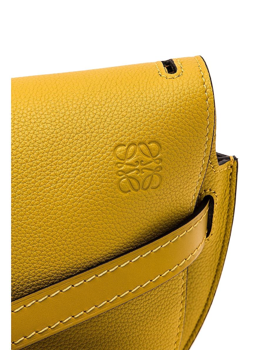 Image 8 of Loewe Gate Small Bag in Ochre