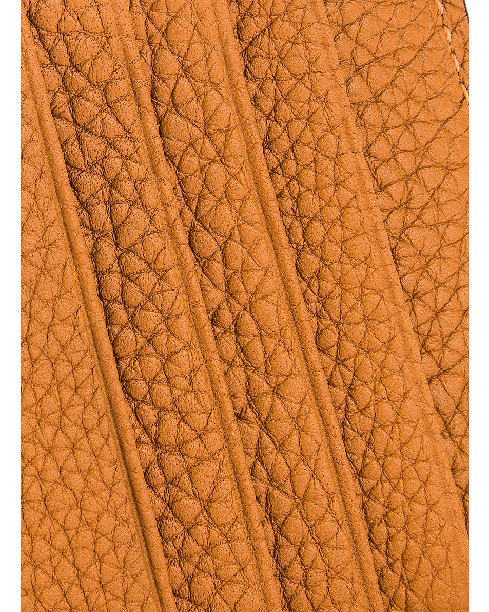 Image 6 of Loewe Large Coin Cardholder in Light Caramel & Pecan
