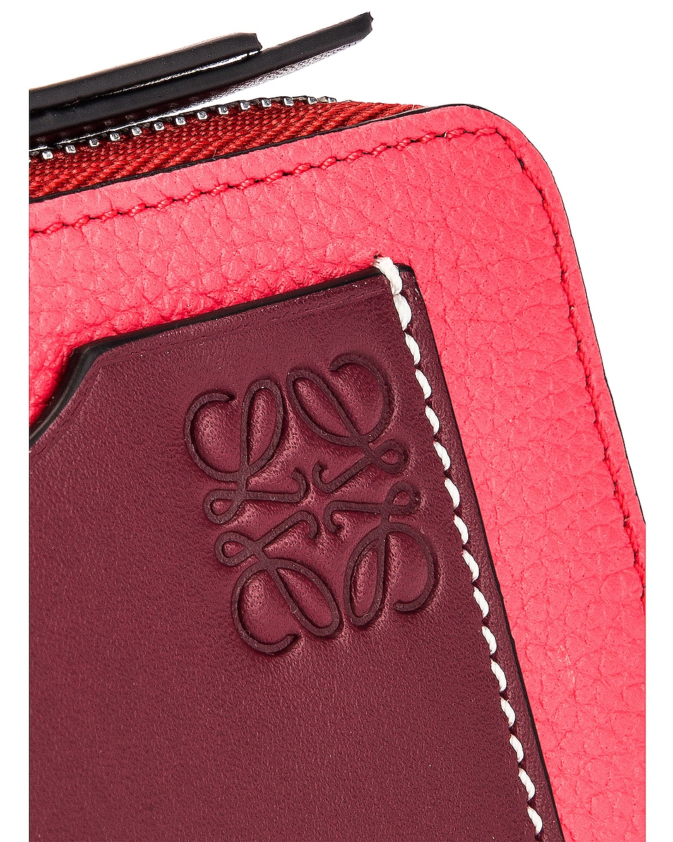 Image 5 of Loewe Large Coin Cardholder in Poppy Pink