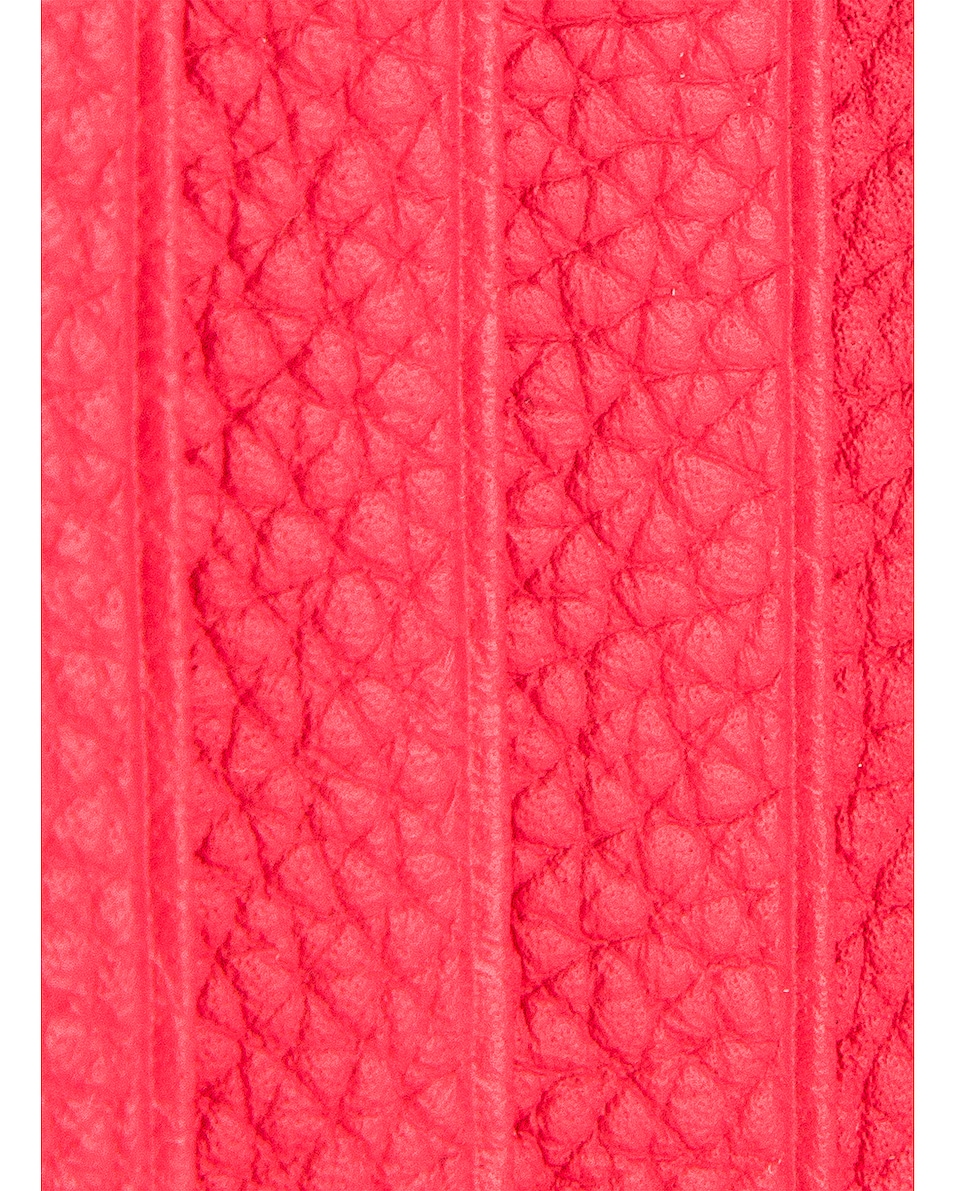 Image 6 of Loewe Large Coin Cardholder in Poppy Pink