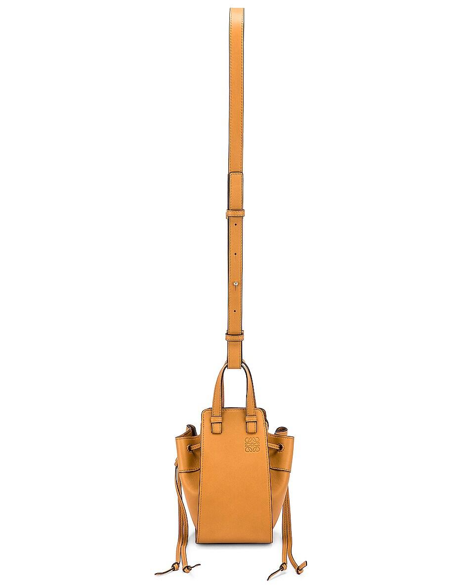Image 6 of Loewe Hammock DW Mini Bag in Light Caramel