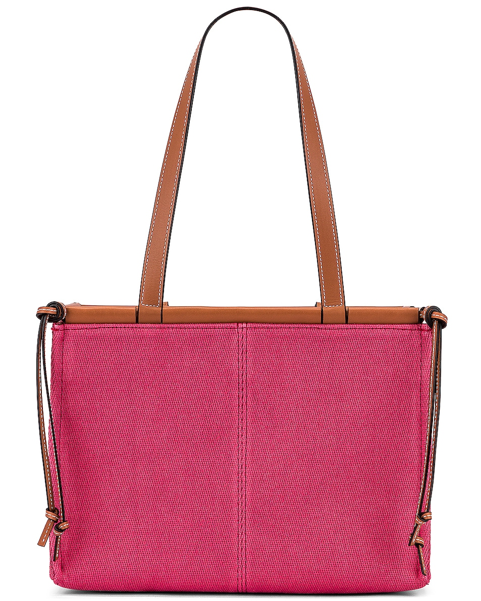 Image 3 of Loewe Cushion Tote Small Bag in Raspberry
