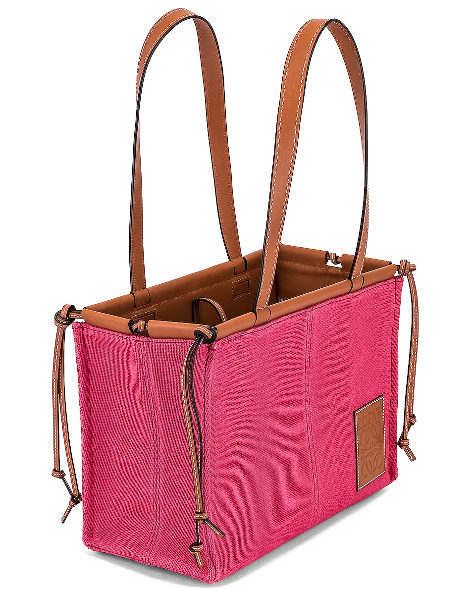 Image 5 of Loewe Cushion Tote Small Bag in Raspberry