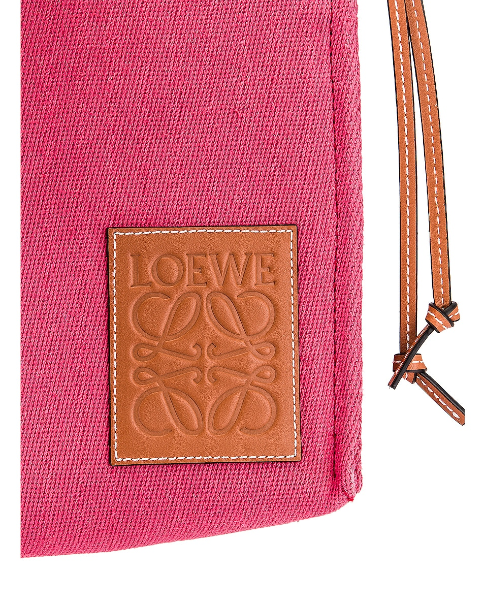 Image 7 of Loewe Cushion Tote Small Bag in Raspberry