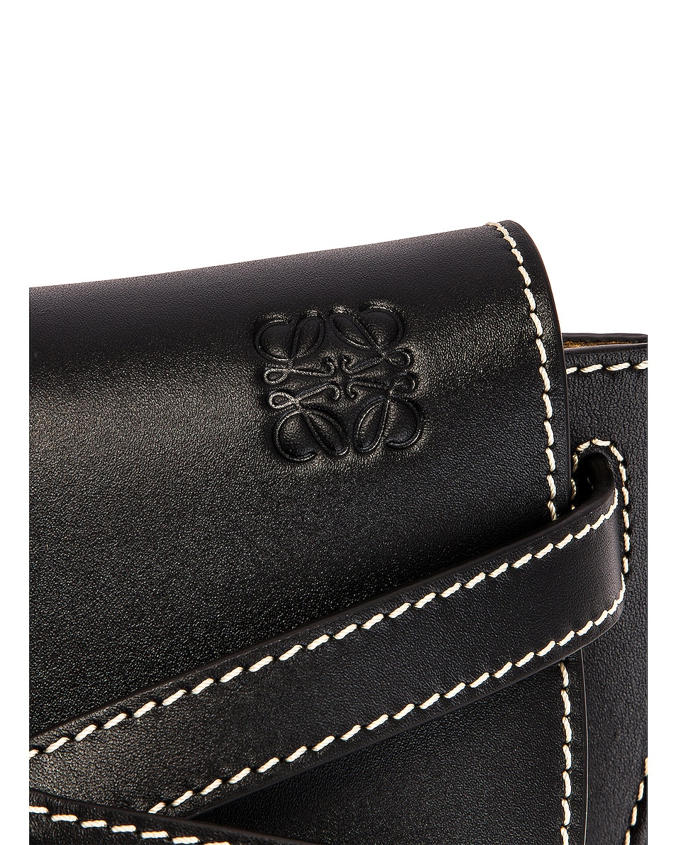 Image 7 of Loewe Gate Bumbag in Black