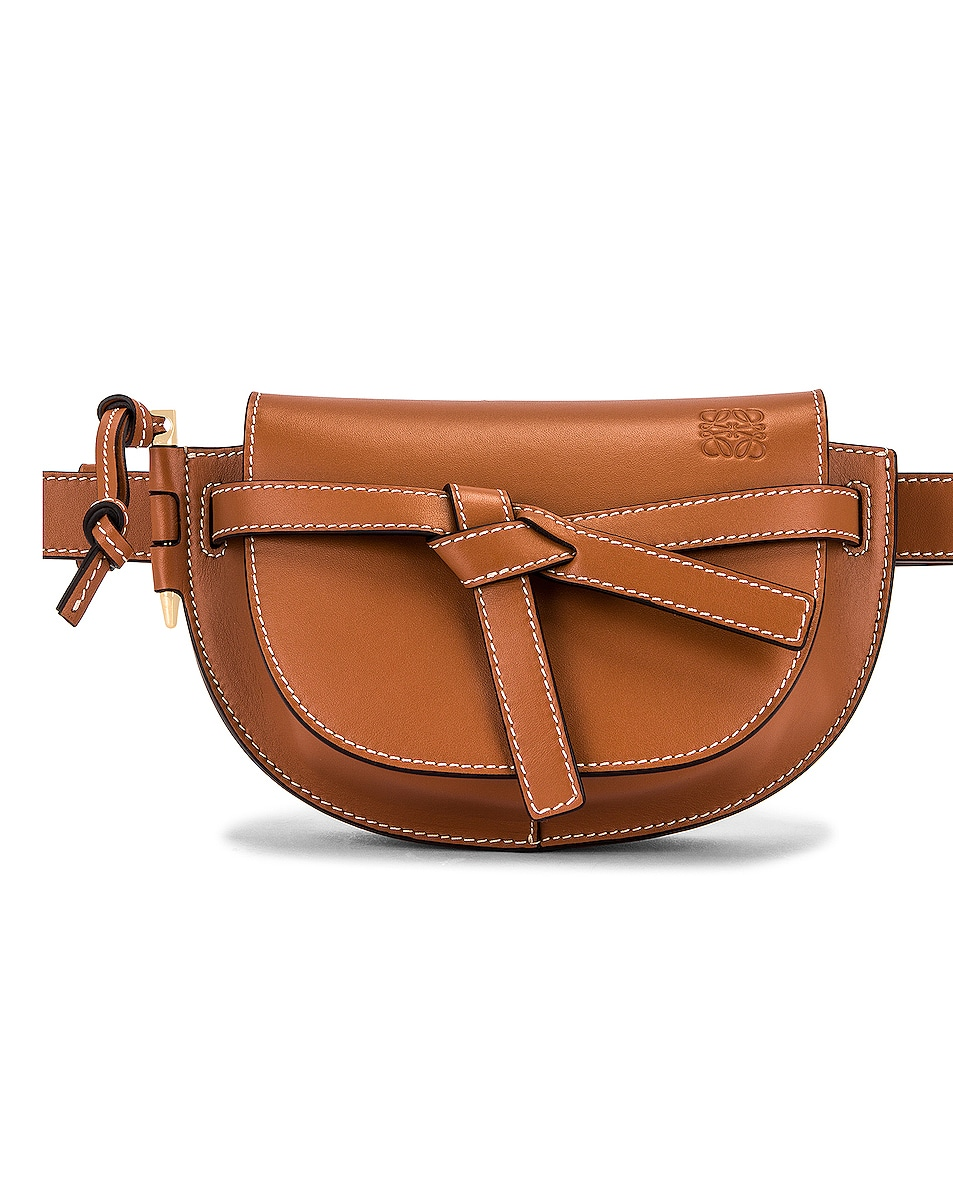 Image 1 of Loewe Gate Bumbag in Tan
