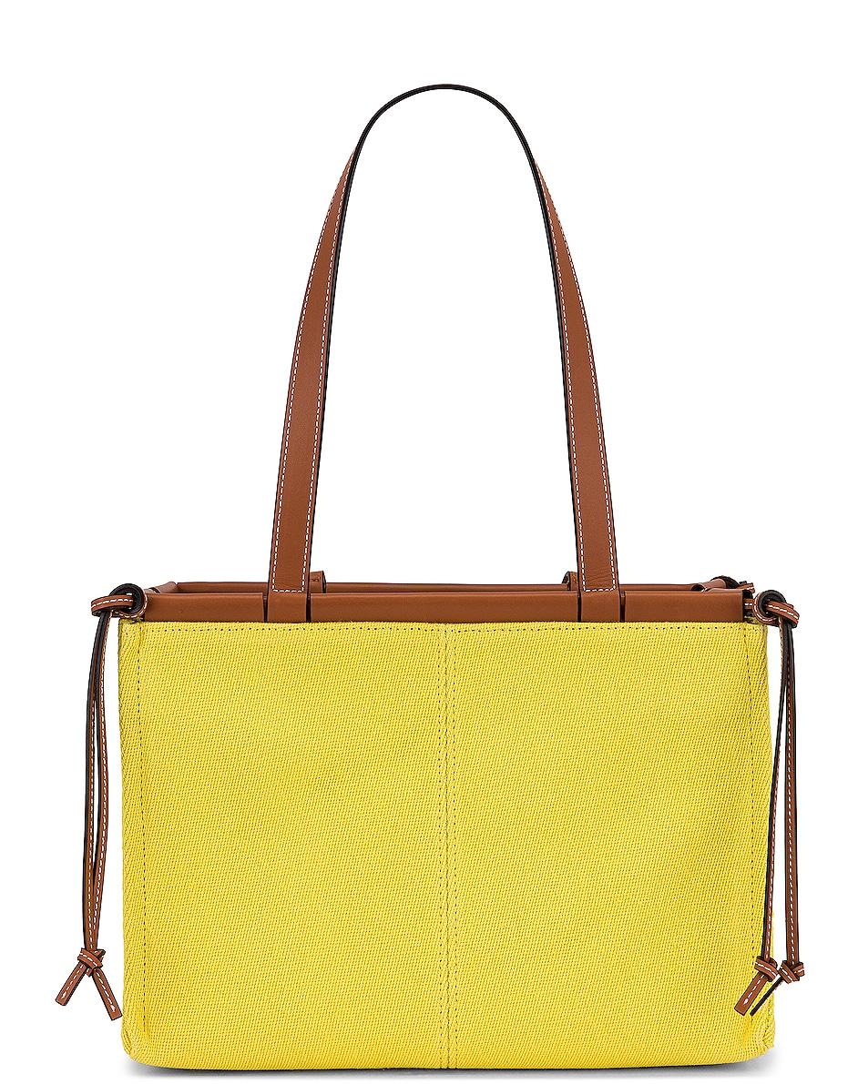 Image 3 of Loewe Cushion Tote Small Bag in Yellow