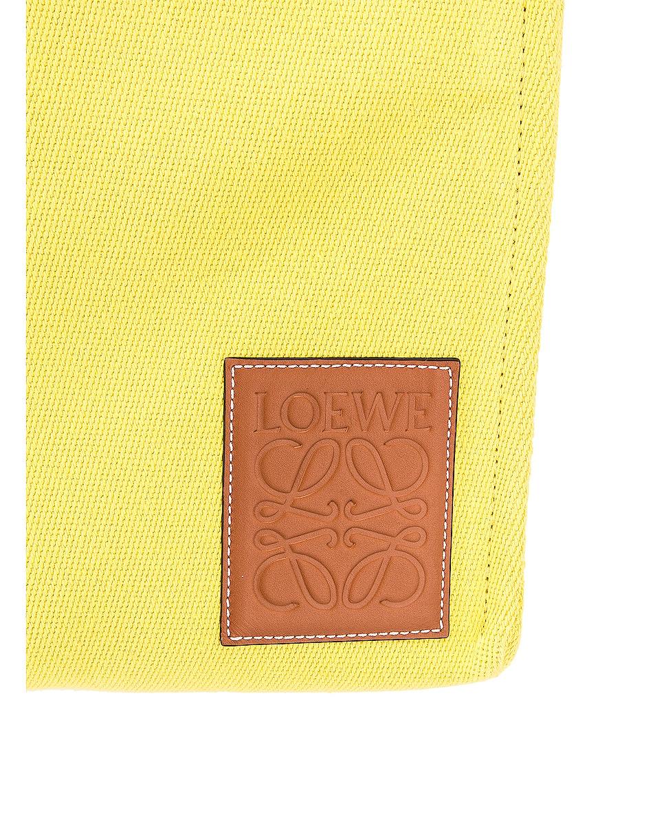 Image 7 of Loewe Cushion Tote Small Bag in Yellow