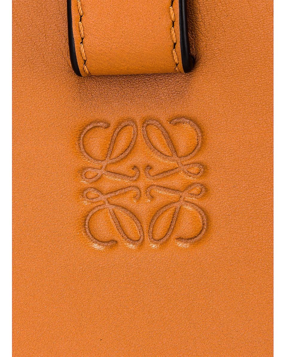 Image 7 of Loewe Hammock Knit Small Bag in Tan & Natural