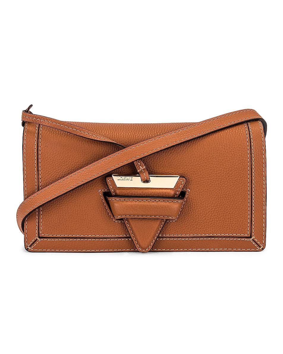 Image 1 of Loewe Barcelona Soft Mini Bag in Tan