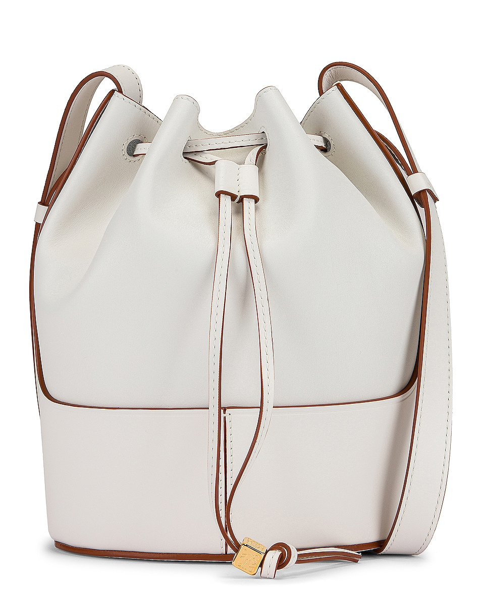 Image 1 of Loewe Balloon Small Bag in Soft White