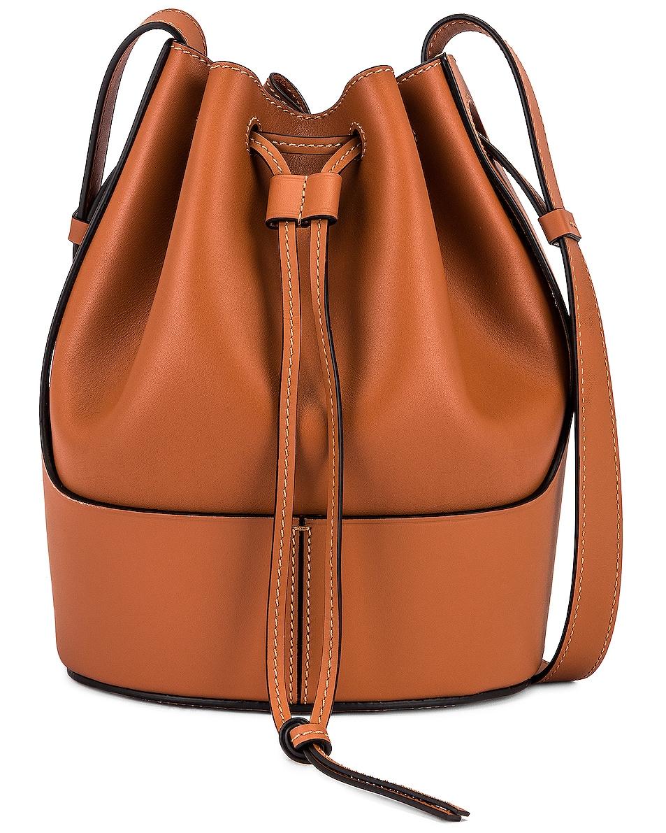 Image 1 of Loewe Balloon Small Bag in Tan