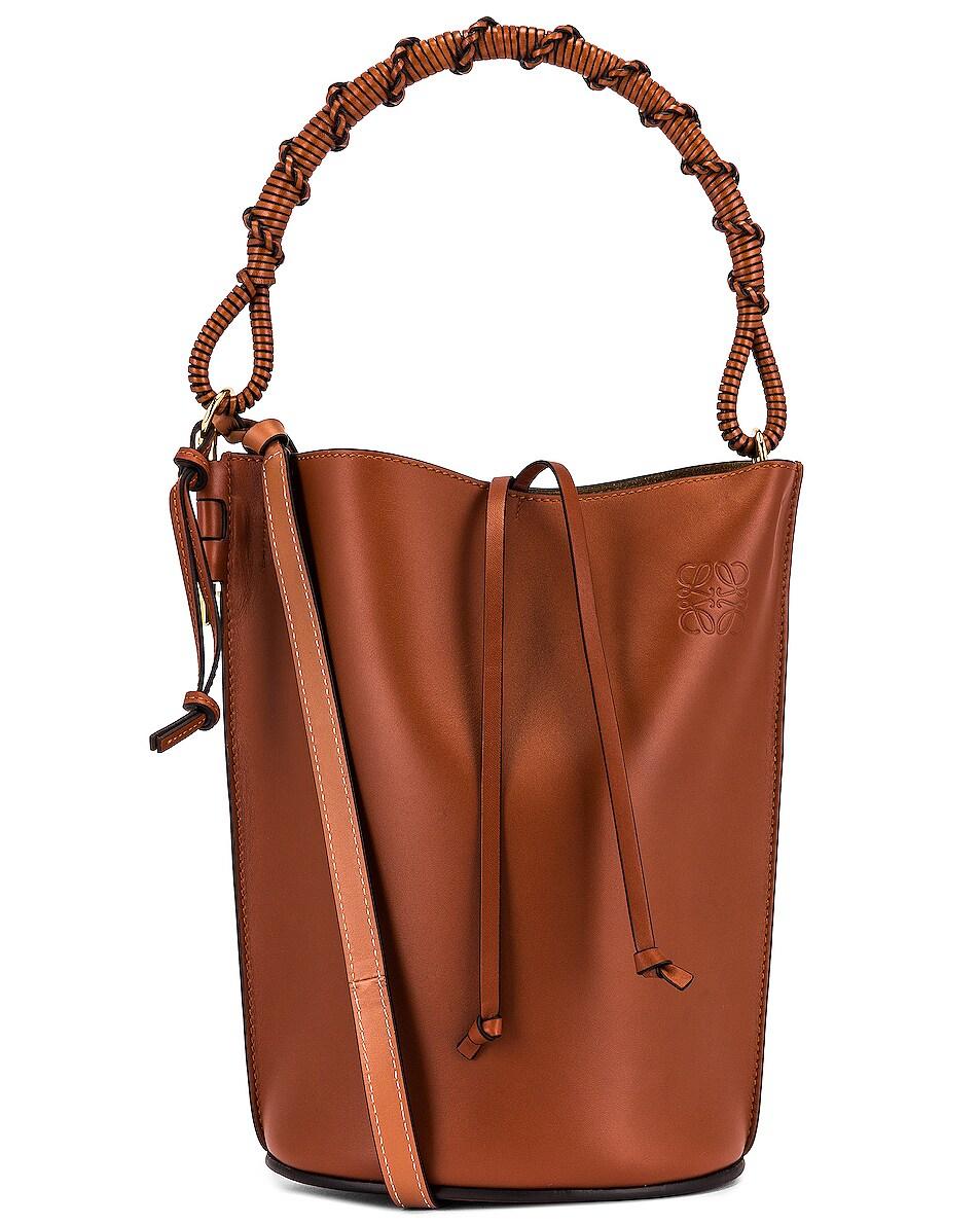 Image 1 of Loewe Gate Handle Bag in Rust Color