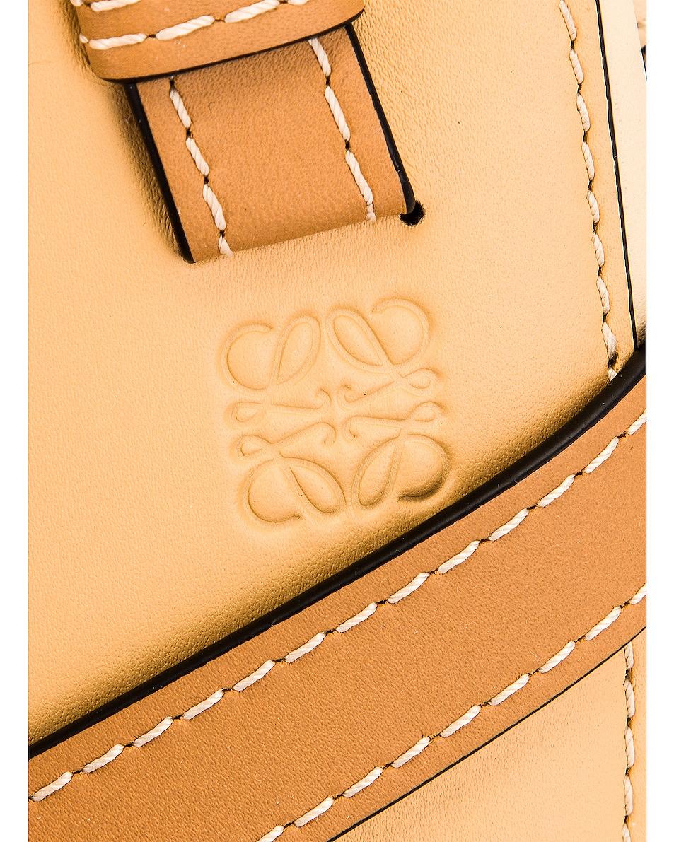 Image 8 of Loewe Gate Top Handle Mini Bag in Dune & Vanilla