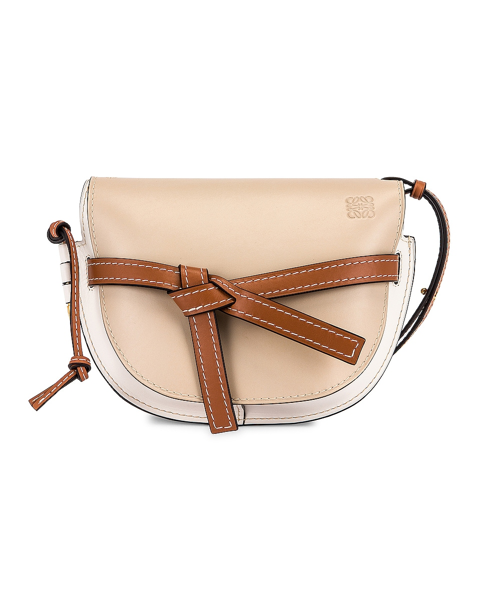 Image 1 of Loewe Gate Small Bag in Light Oat & Soft White