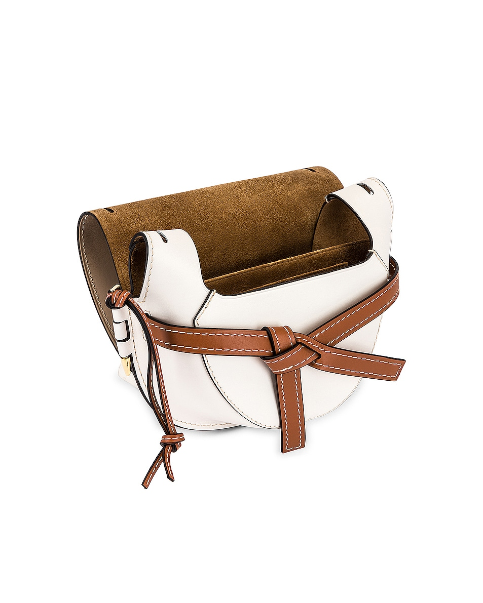 Image 5 of Loewe Gate Small Bag in Light Oat & Soft White