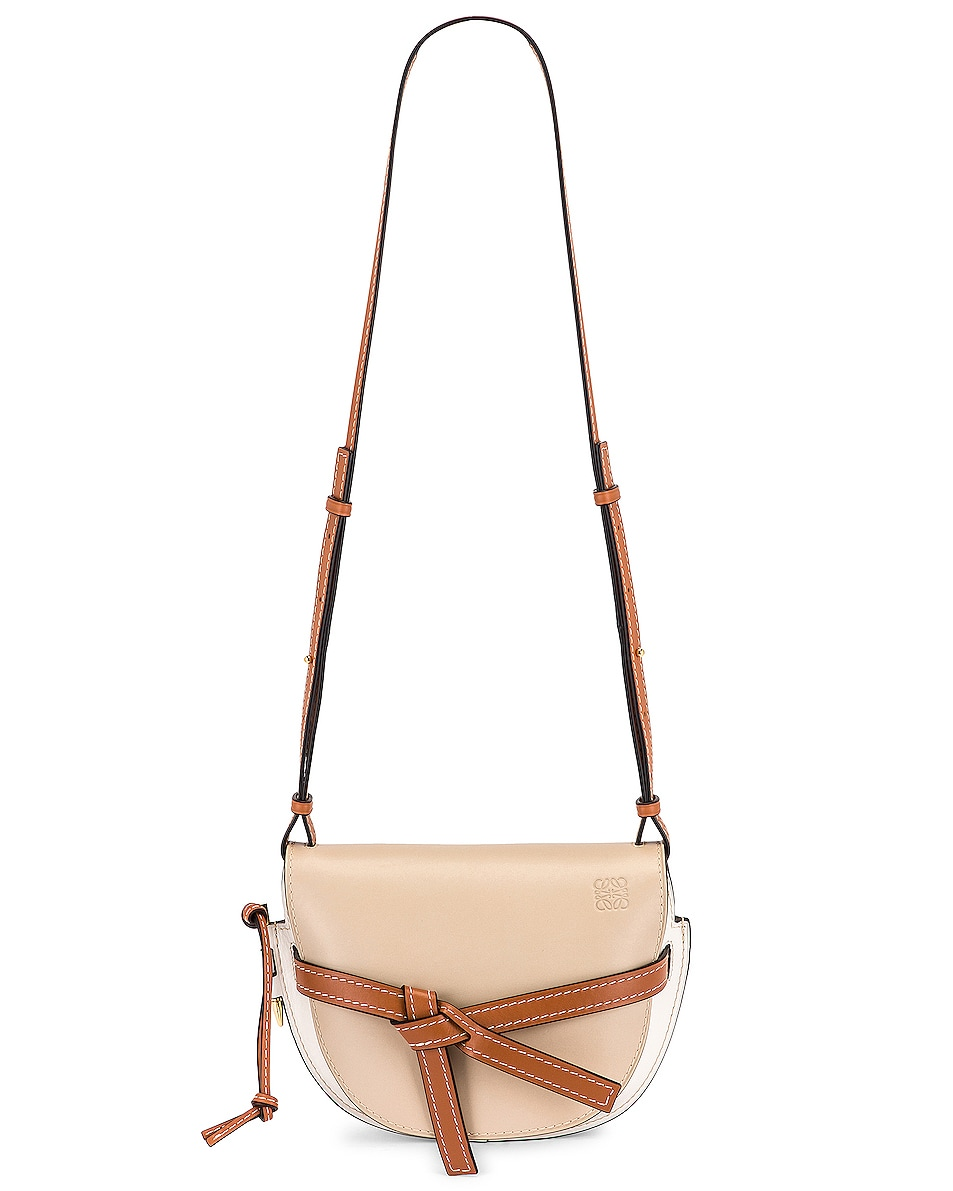Image 6 of Loewe Gate Small Bag in Light Oat & Soft White