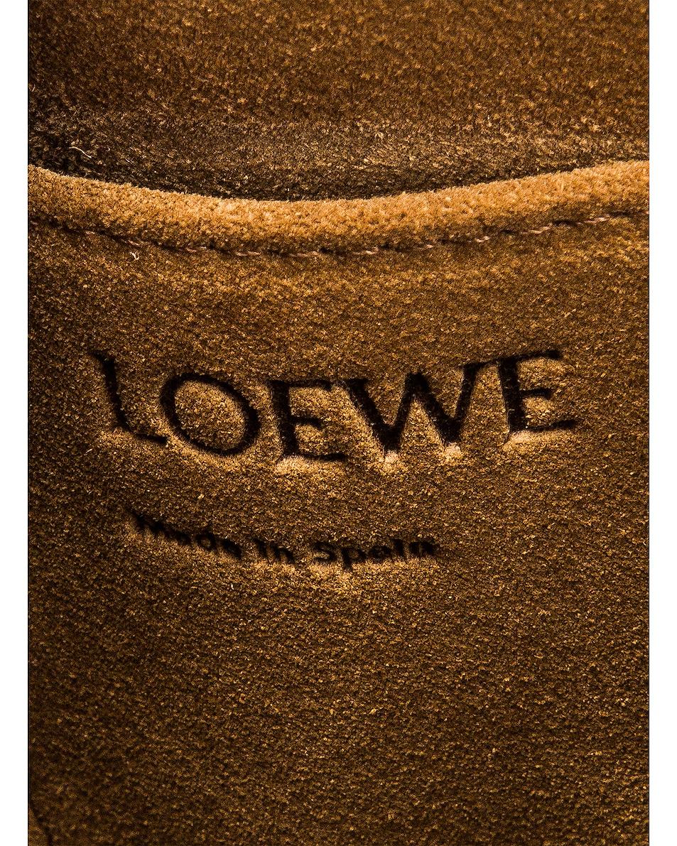 Image 7 of Loewe Gate Top Handle Mini Bag in Light Oat & Soft White