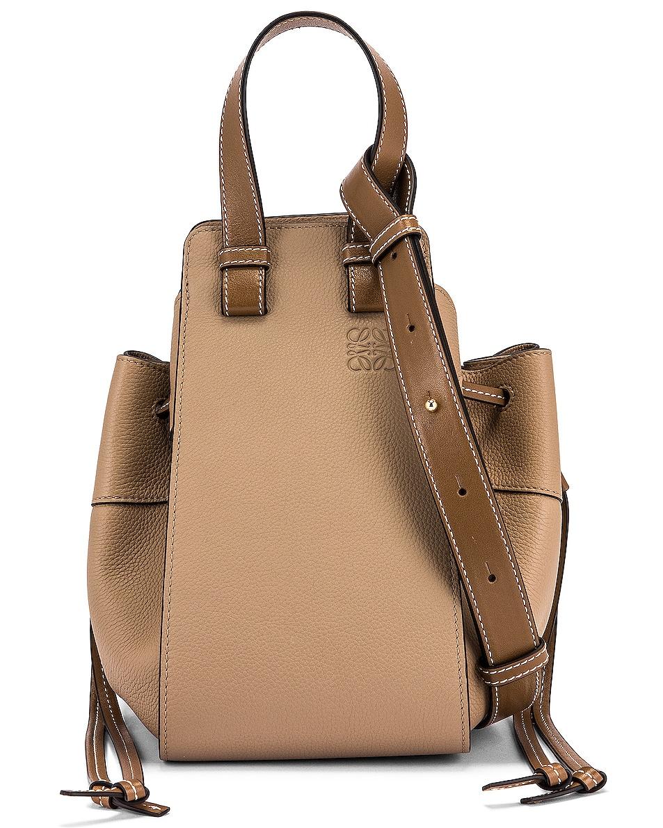 Image 1 of Loewe Hammock DW Small Bag in Sand & Mink Color