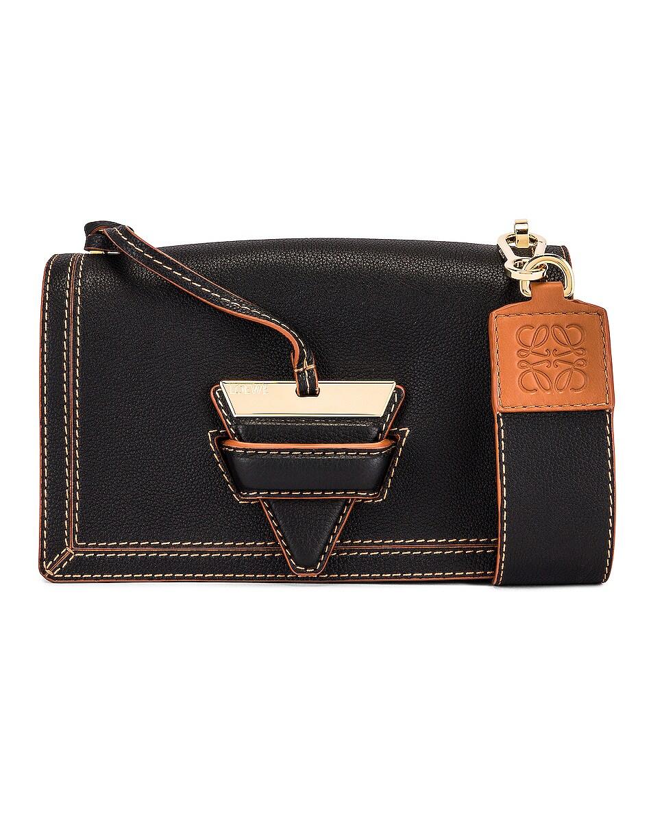Image 1 of Loewe Barcelona Soft Bag in Black
