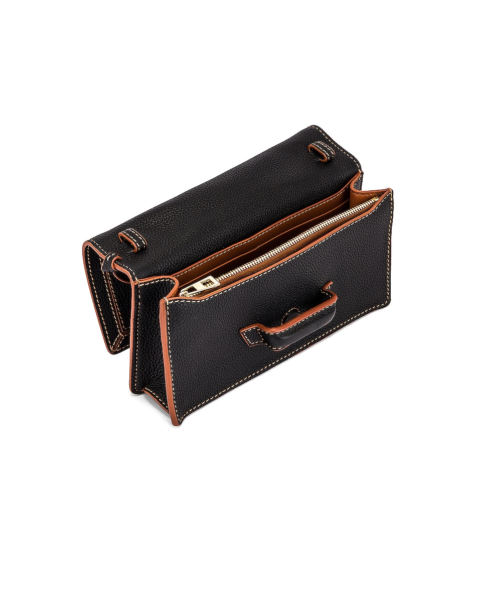 Image 5 of Loewe Barcelona Soft Mini Bag in Black