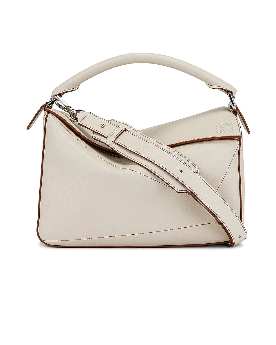 Image 1 of Loewe Puzzle Soft Bag in Soft White