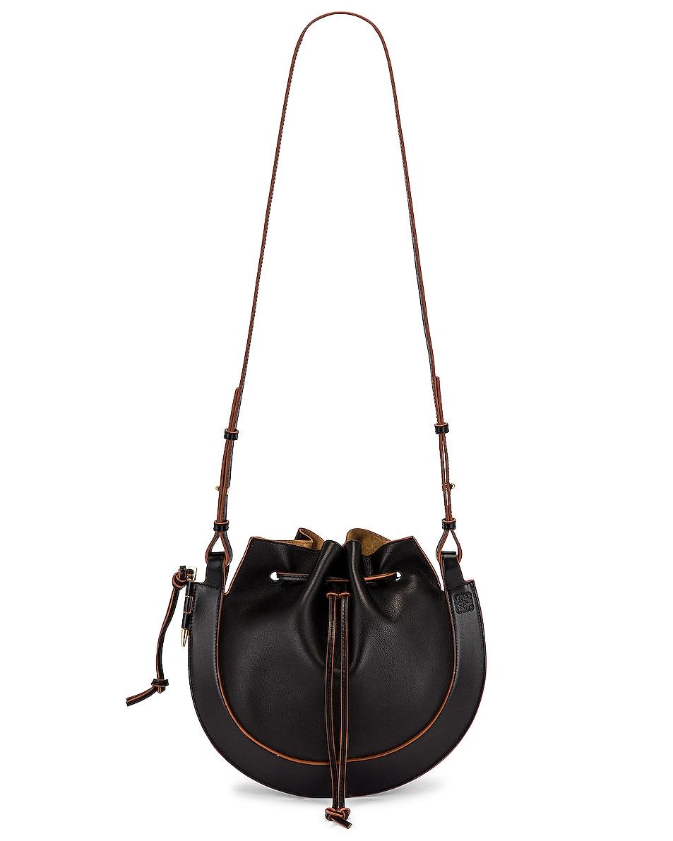Image 1 of Loewe Horseshoe Bag in Black