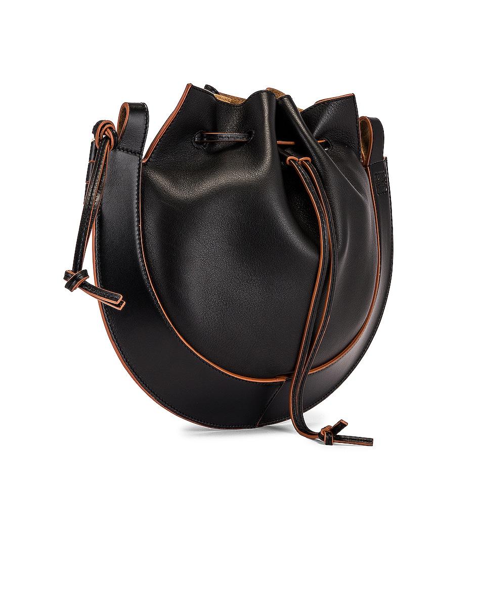 Image 5 of Loewe Horseshoe Bag in Black