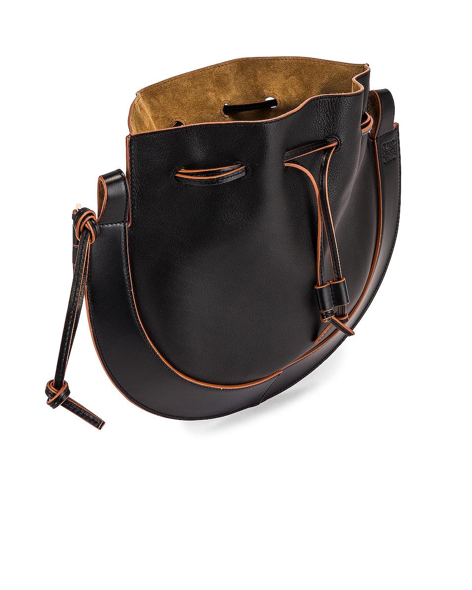 Image 6 of Loewe Horseshoe Bag in Black
