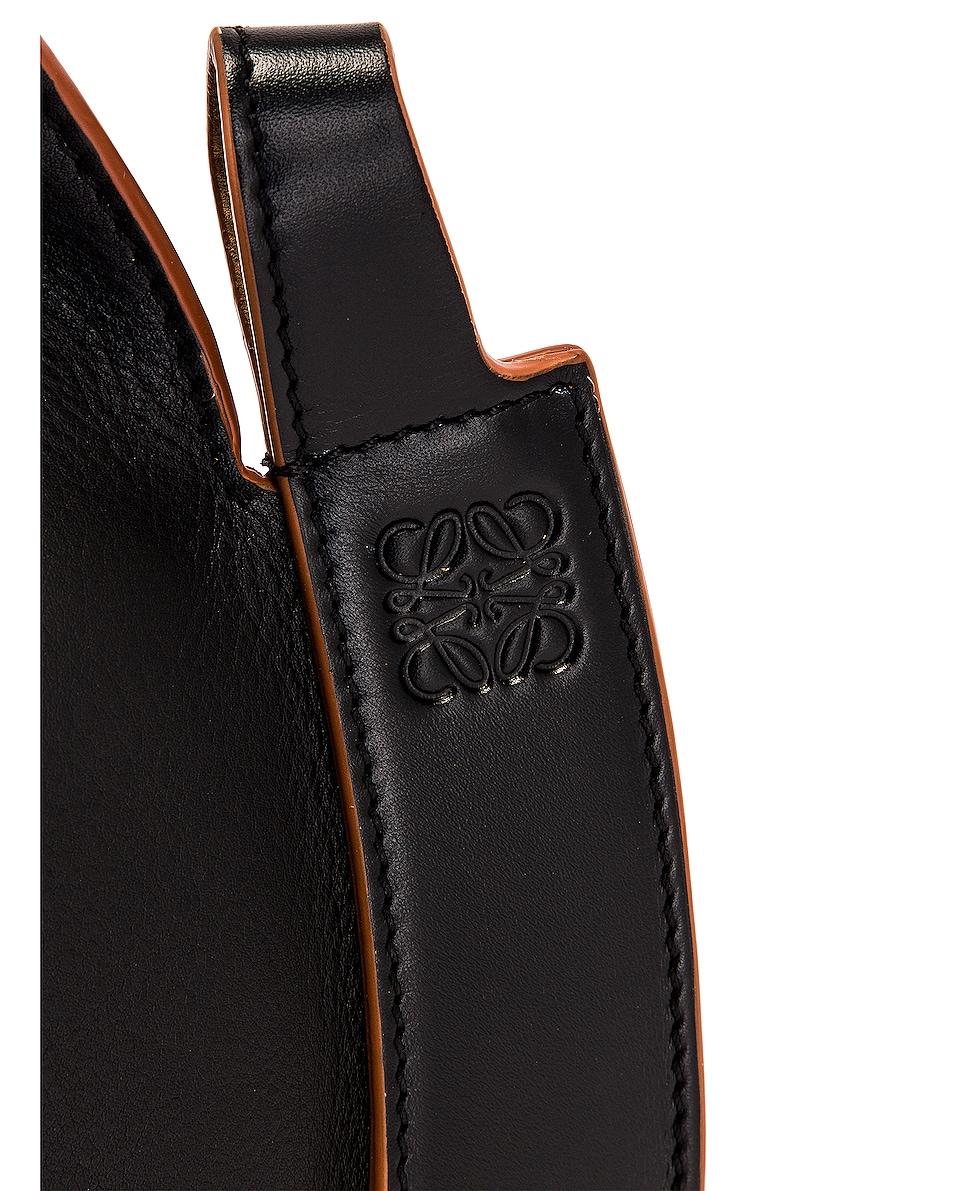 Image 8 of Loewe Horseshoe Bag in Black
