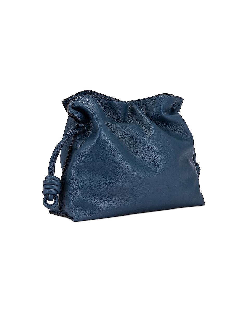 Image 4 of Loewe Flamenco Clutch in Varsity Blue
