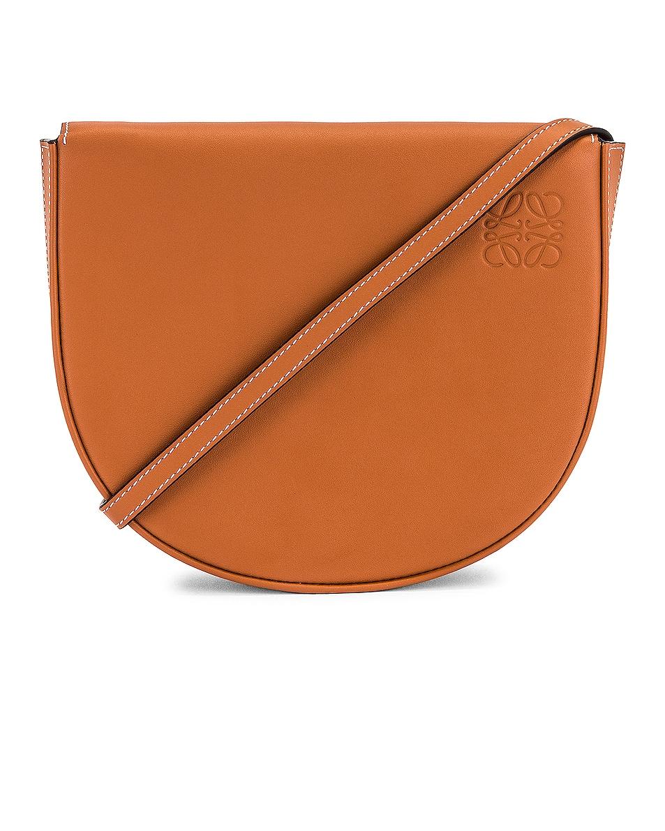 Image 1 of Loewe Heel Bag in Tan
