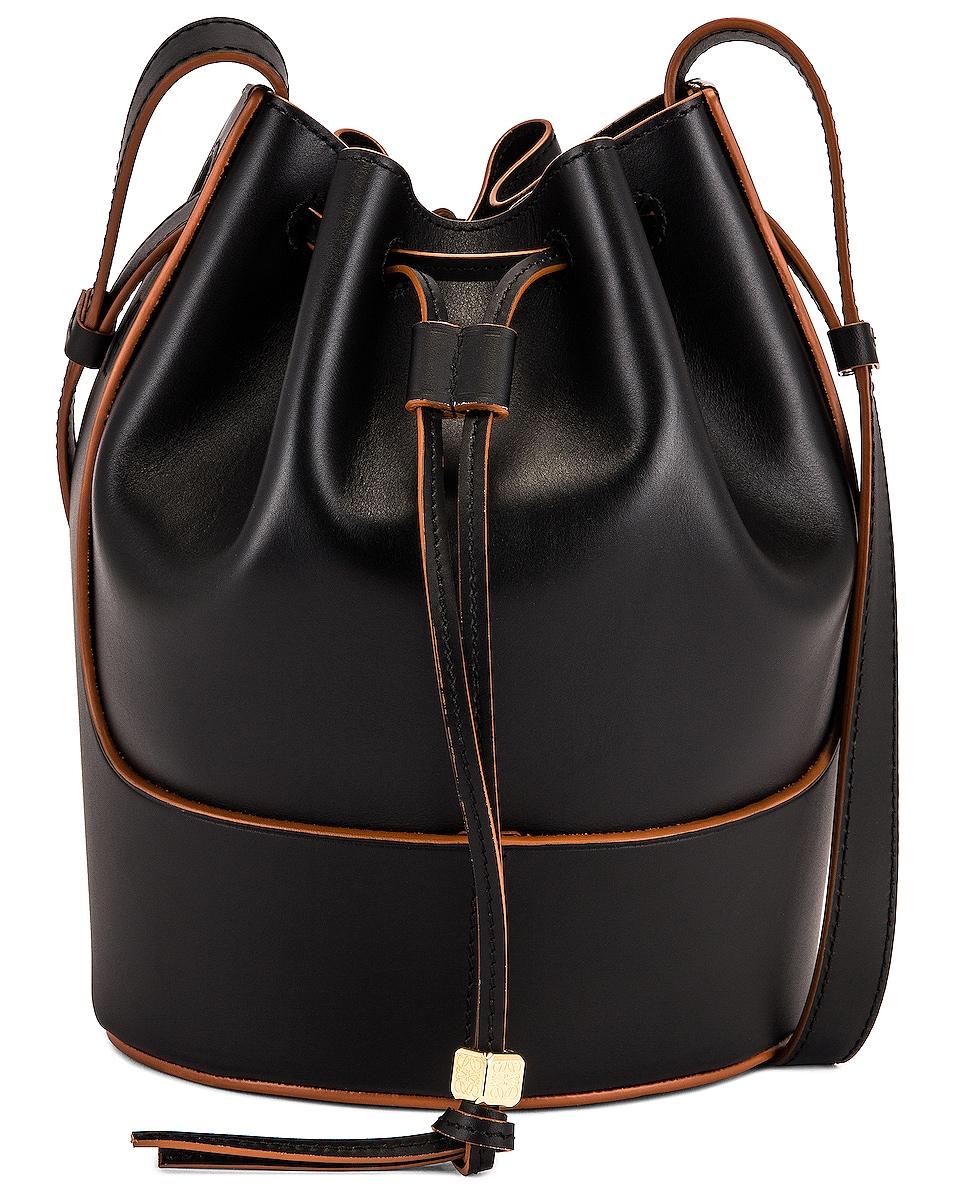 Image 1 of Loewe Balloon Small Bag in Black