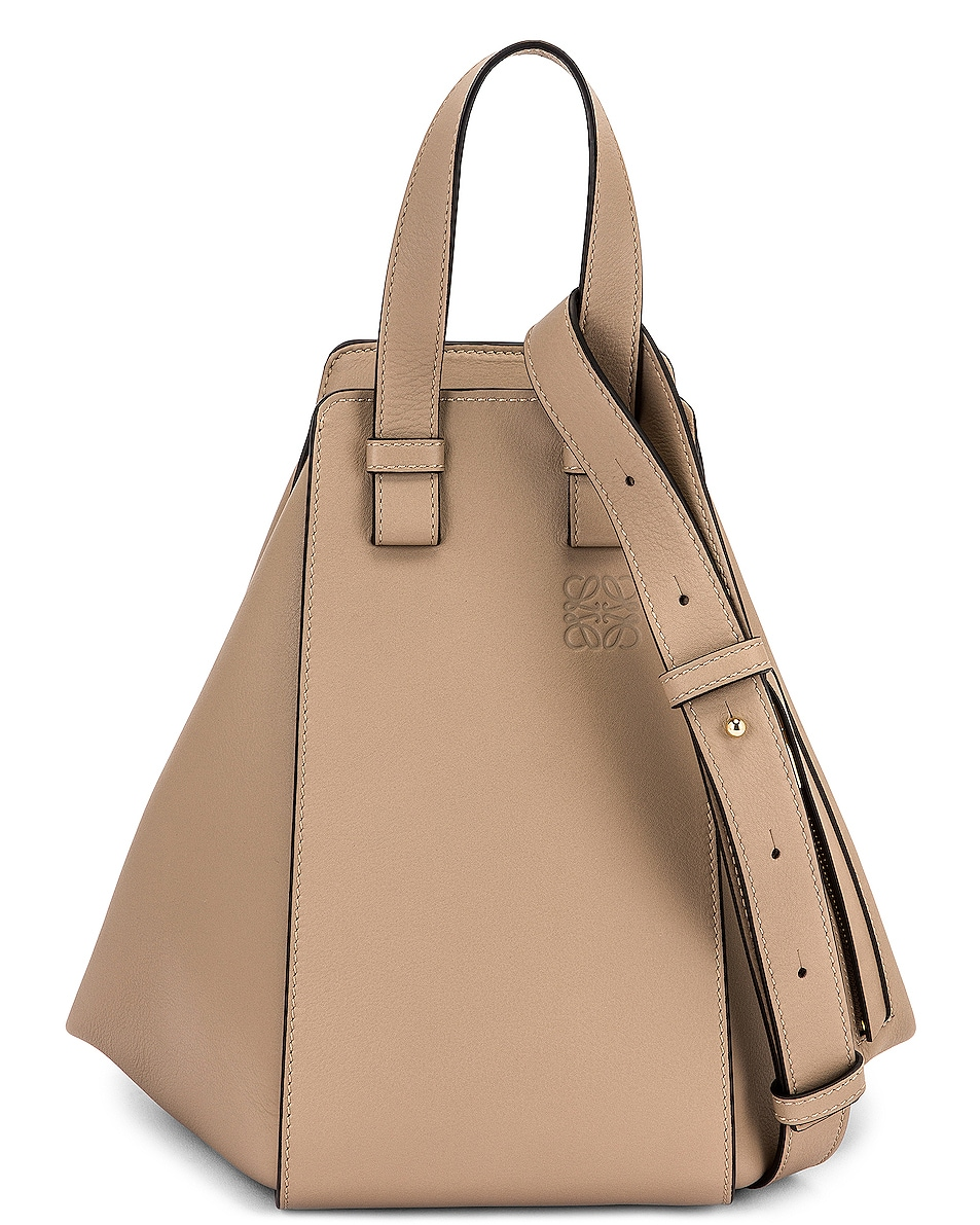 Image 1 of Loewe Hammock Small Bag in Sand