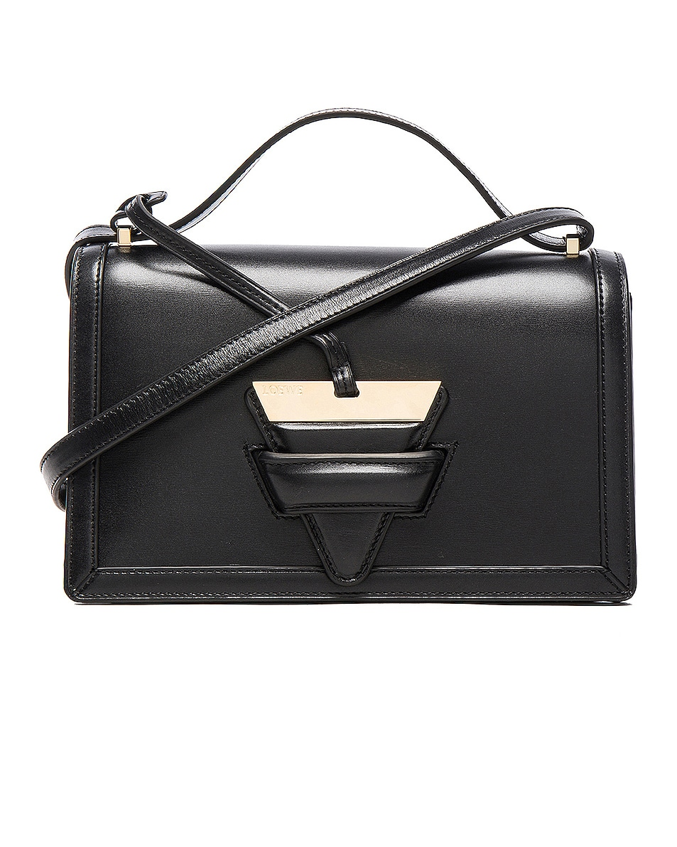 Image 3 of Loewe Barcelona Bag in Black