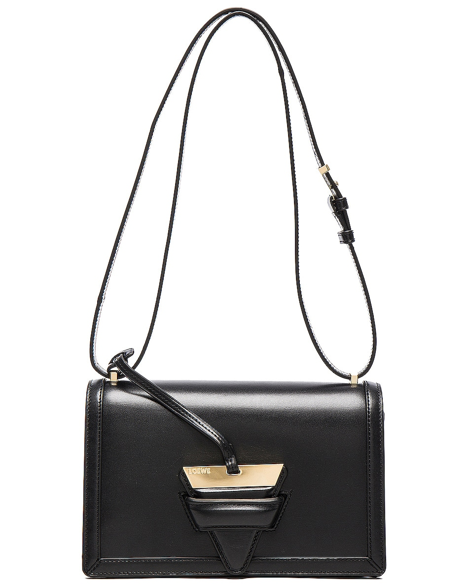 Image 8 of Loewe Barcelona Bag in Black