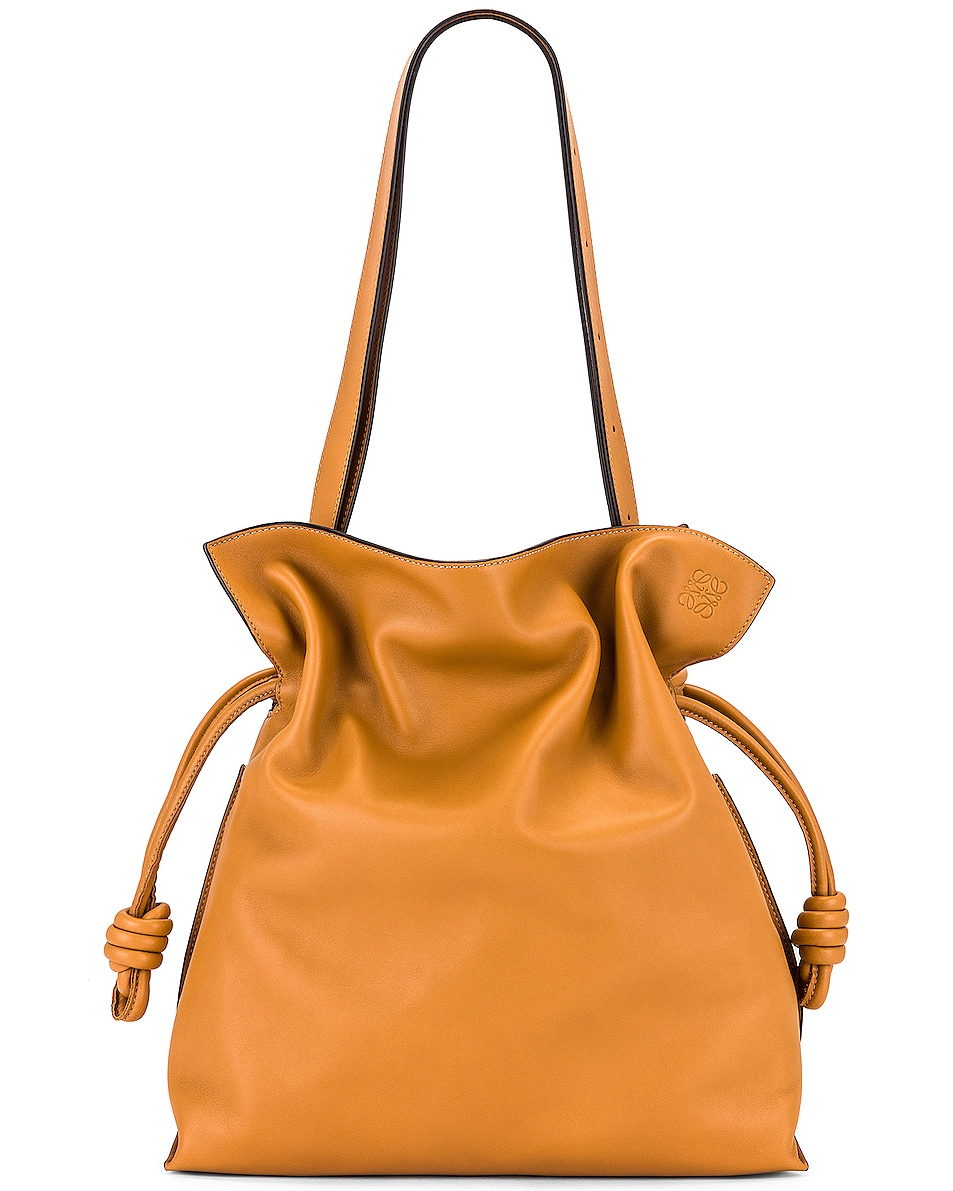 Image 1 of Loewe Flamenco Large Bag in Warm Desert