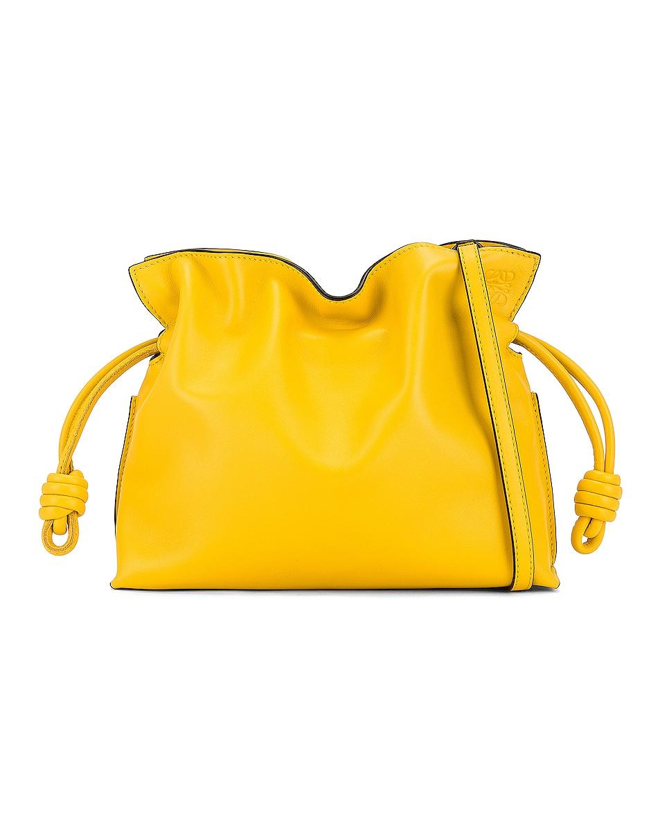 Image 1 of Loewe Flamenco Mini Clutch in Yellow