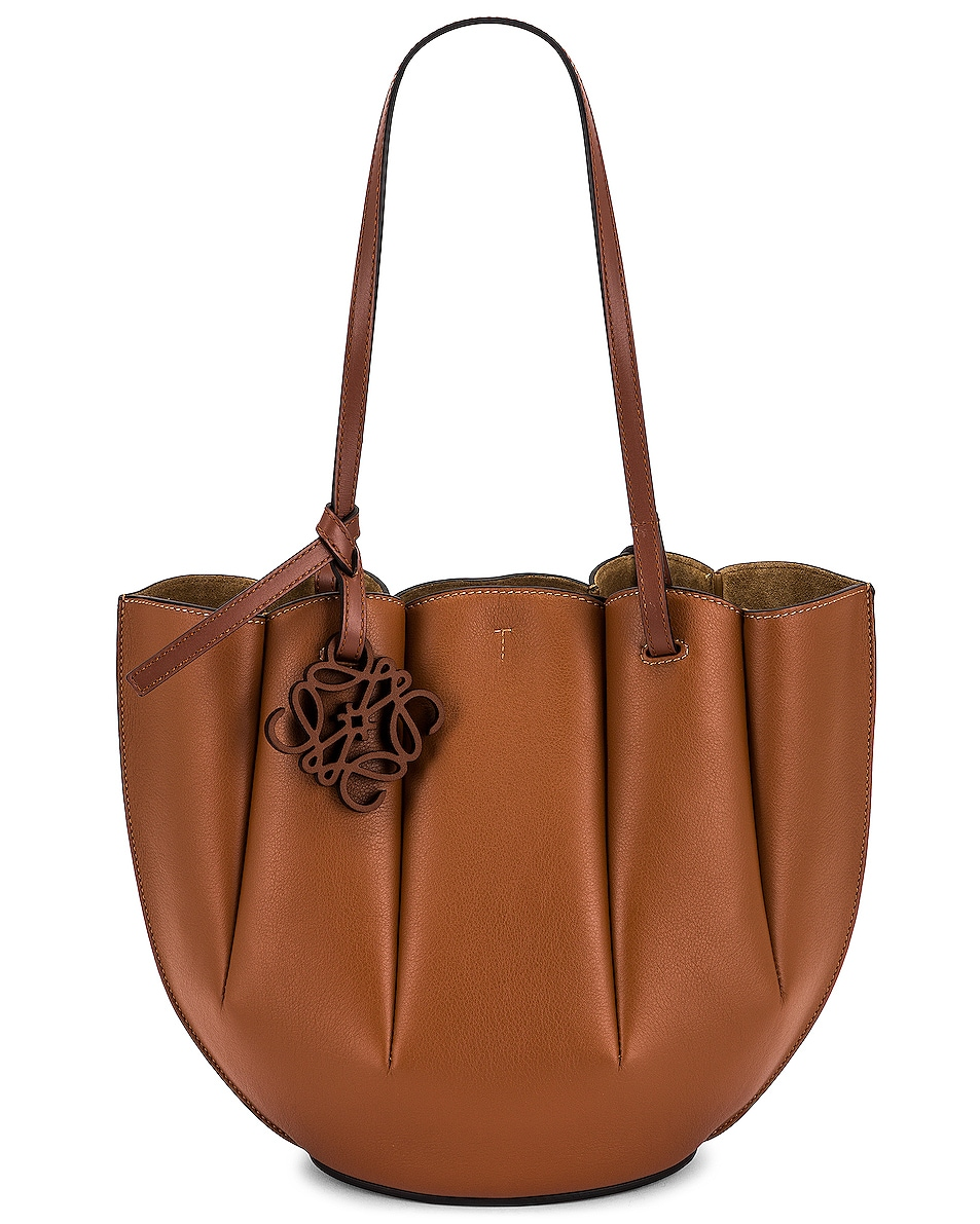 Image 1 of Loewe Shell Tote Small Bag in Tan