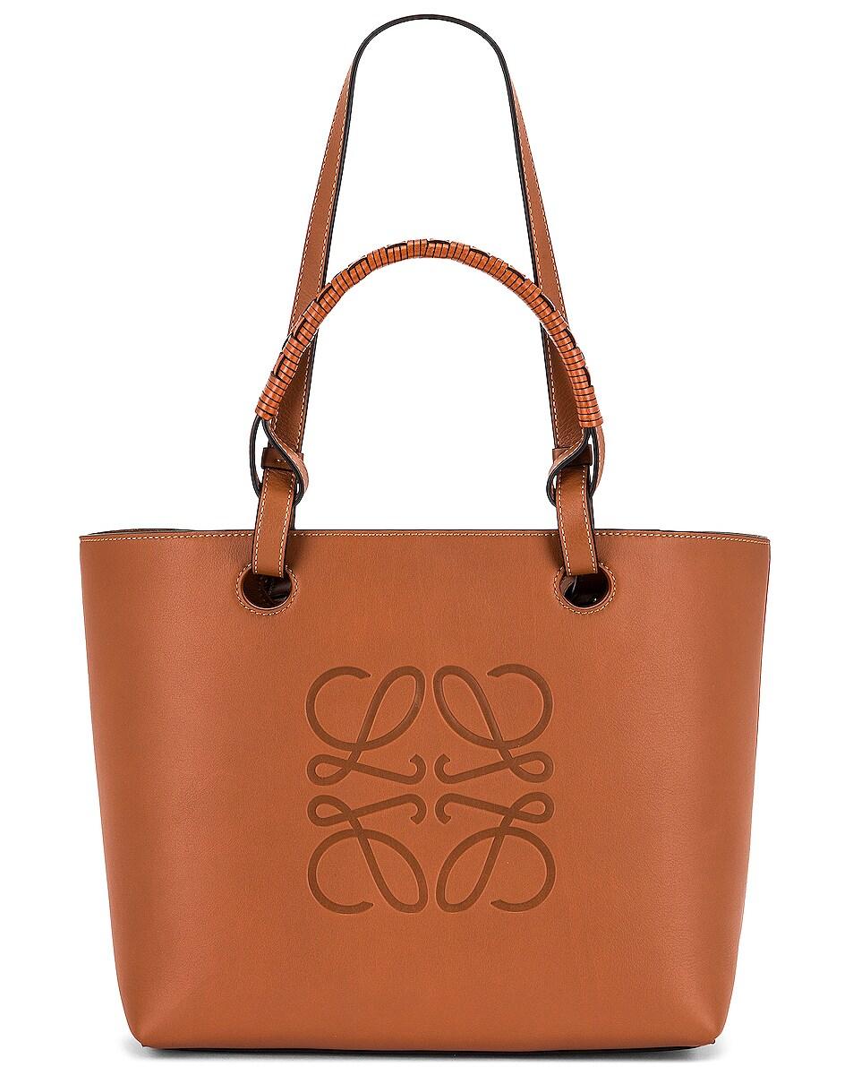Image 1 of Loewe Anagram Tote Small Bag in Tan